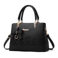 Famouse Brand Shoulder Bag Female Flower Rose Printing Handbag For Women Messenger Bags Envelope Crossbody Bag