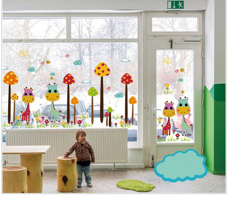 Removable Pvc Paster Diy Wall Decal Stickers Kids