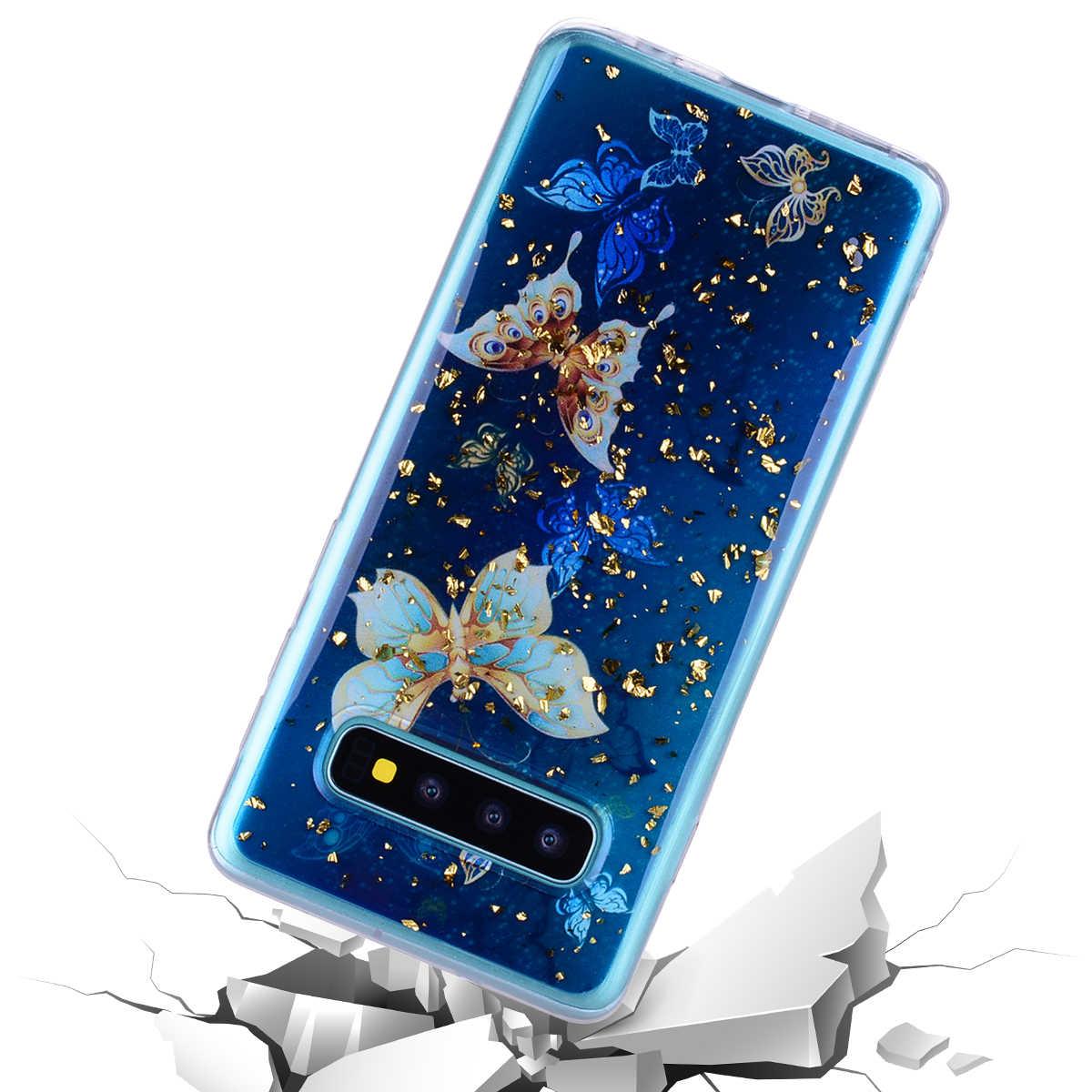 Platine Époxy étui pour Samsung Galaxy Note 8 Sacs De Téléphone Portable Coques Pour Samsung Note8 En Silicone Souple étui en polyuréthane thermoplastique Dessin Animé Cas