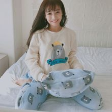 Cute Cartoon Dog Pattern Pajamas Nightwear
