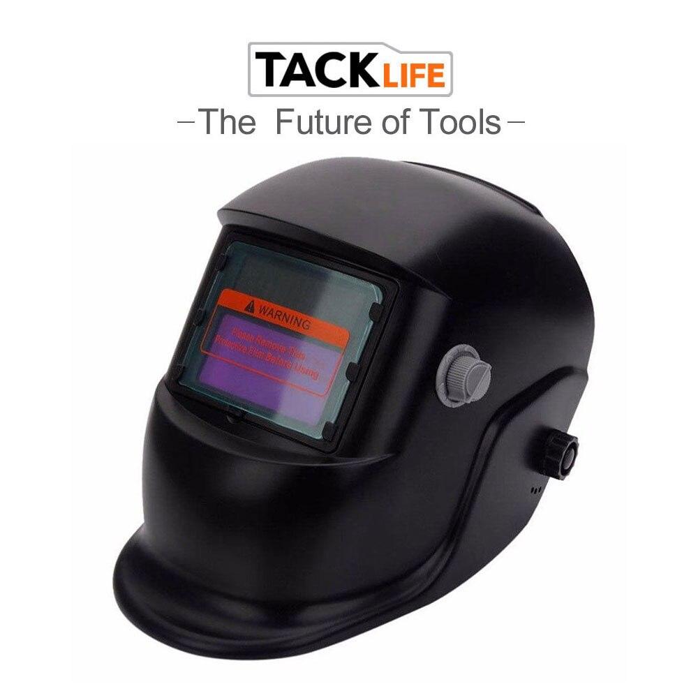 Сварочная маска Tacklife с функцией автоматического затемнения Автоматическое включение/выключение сварочного шлема сварочные принадлежности режим шлифовки сварки
