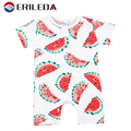Baby Romper Fruit Banana Pineapple Watermelon Rompers Cotton Short Sleeve Print Baby Boy Girl Summer Clothing Next Jumpsuit