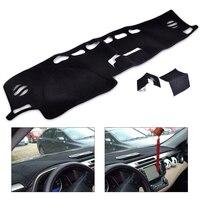 Beler Car Black Inner Dashboard Dash Mat Sun Cover Pad Visor DashMat Fit For Toyota RAV4