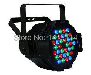 Night club lighting 5 pieces/ lot cheap led stage light RGBW non-waterproof 36pcs*3W