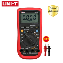 UNI-T UT61D Digital Multimeter Auto Range True RMS AC DC Volt Capacitance Frequency Resistance Tester Software CD & Data Hold habotest digital ncv clamp meter multimeter auto range true rms ac dc volt amp resistance temp capacity frequency tester