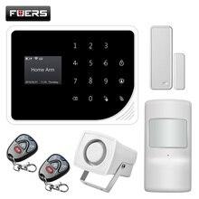 FUERS Neue S5 drahtlose GSM frequenz 850/900/1800/1900MHZ Alarm System APP Steuerung unterstützung Russische spanisch Englisch Dutch