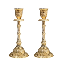 New Metal Candle Holders 17cm/6.69″ Candle Holders Wedding Table Centerpiece Candle Stands Bar Party Home Decor Candlestick