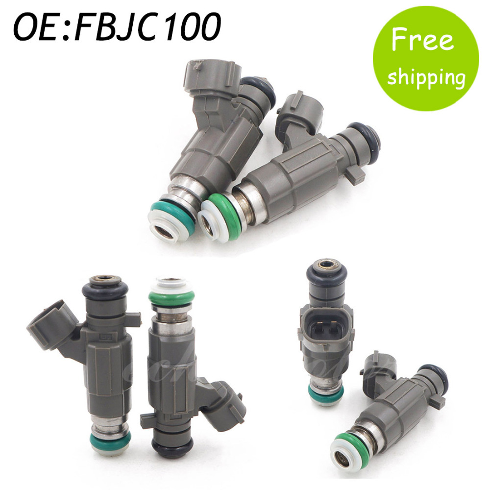 New set 6 jecs flow matched fuel injector for nissan infinity 2 0 3 0