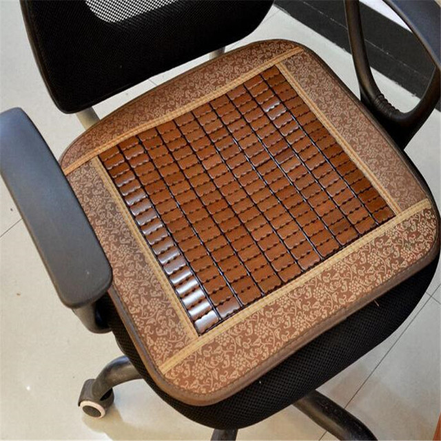 Perfect 20 X Fashion Summer Car Seat Bamboo Cushion Comfortable Chair Cushion  Cushions Seat Covers Supports Pad