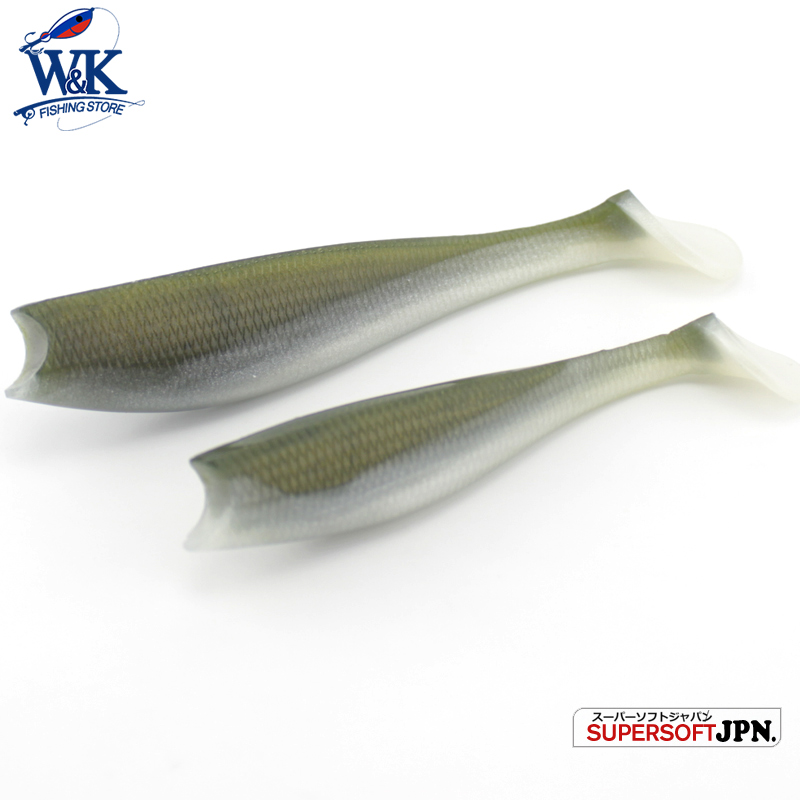 Hot-Sale Cod y Zander señuelos de pesca 14 cm 3 pcs / lote Big Paddle Tail señuelo suave en 13 diferentes colores de cebo suave Swimbaits