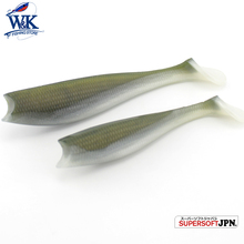 Cod and Zander fishing lure--14 cm 3 pcs/ bags big paddle tail soft lure