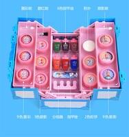 2018 Новый disney Детская косметика box set play игрушки принцесса макияж окно безопасная игрушка косметических Рождественский подарок