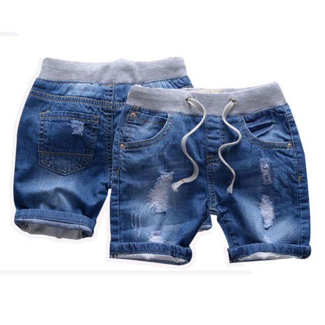 Boys' Loose Denim Shorts