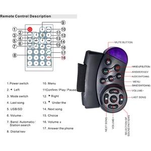 """Image 5 - Hikity السيارات السيارات مشغل الوسائط 2 الدين Autoradio USB بلوتوث راديو FM سيارة متعددة الوسائط MP5 12 فولت HD 7 """"2din شاشة تعمل باللمس راديو ستيريو"""