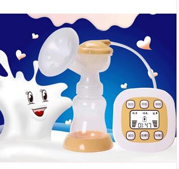 2016 Madres de Leche de Succión del Pezón P. p. Extractor de leche eléctrico Automático Bebé la Lactancia materna de la Bomba de Vacío Con Masaje