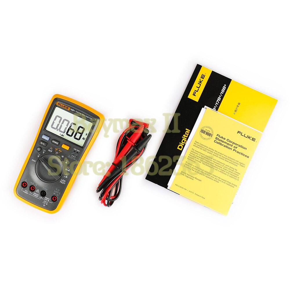 Multímetro Digital de rango Auto/Manual de Ohm con prueba LED de tensión CA/CC, corriente, capacitancia - 3