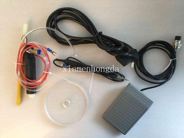 Livraison gratuite chaud 110 V électrique et ARGON gaz soudage MACHINE, impulsion étincelle soudeuse pour bijoux
