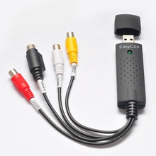 Cheaper Video Microscopes Capture Edit Cards Video & Audio Converter AV to USB 2.0 Interface Adapter