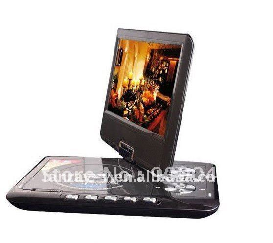 "Free Shipping! Super Popular! Fashionable high quality portable 9"" Media Player DVB-T"
