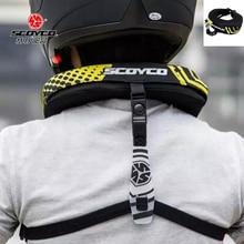Scoyco Flame-Retardant Windproof Motorcycle Neck Protector MX ATV Brace Racing Protective Gear NO2B