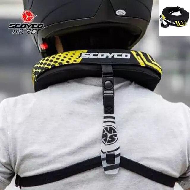 Scoyco Flame-Retardant Windproof Motorcycle Neck Protector MX ATV Neck Brace Racing Protective Gear NO2B