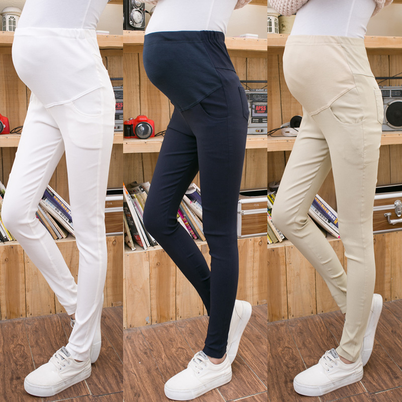 Maternity Pants Autumn Long trousers Maternity Clothing Maternity Legging Slim Pencil Pants Black Maternity Clothes 2018 New