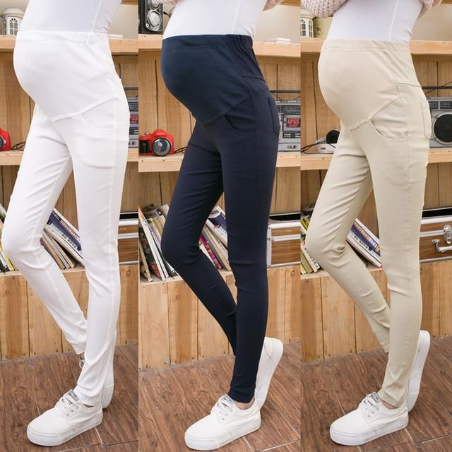 42eb73c881b23 Maternity Pants Autumn Long trousers Maternity Clothing Maternity Legging  Slim Pencil Pants Black Maternity Clothes 2018 New