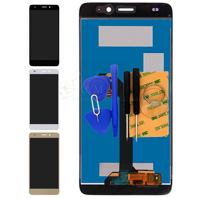 """LCD + TP для Huawei GT3 NMO-L02 NMO-L03 5.2 """"ЖК-Дисплей + Touch Screen Digitizer Сборка Замена Части Бесплатная Доставка + инструменты"""