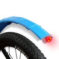 텔레스코픽 접이식 자전거 자전거 펜더 MTB 프론트 리어 머드 가드 퀵 릴리스 자전거 펜더 (미등 포함) 사이클링 액세서리
