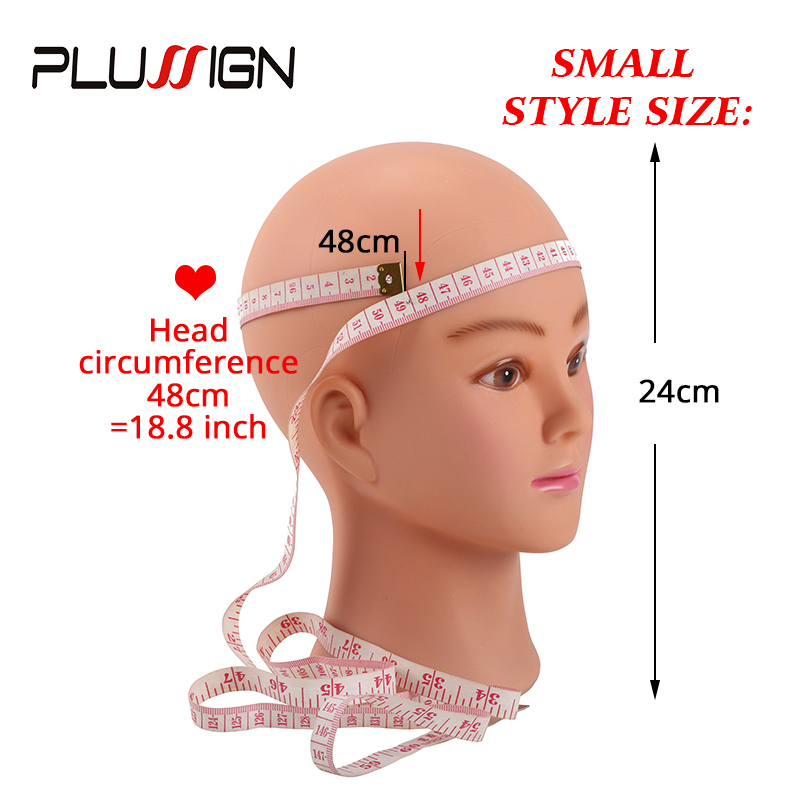 "Image 3 - Plussign Female Mannequin Head Bald With Table Clamp Professional Manikin Head For Wig Making Hat Display Makeup Practice 19 21""mannequin head clampmannequin clampmannequin wig -"