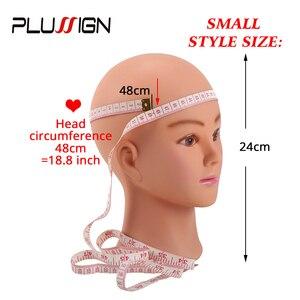 "Image 3 - Plussign נקבה Mannequin ראש קירח עם שולחן מהדק מקצועי גמד ראש לפאה ביצוע כובע תצוגת איפור עיסוק 19  21"""