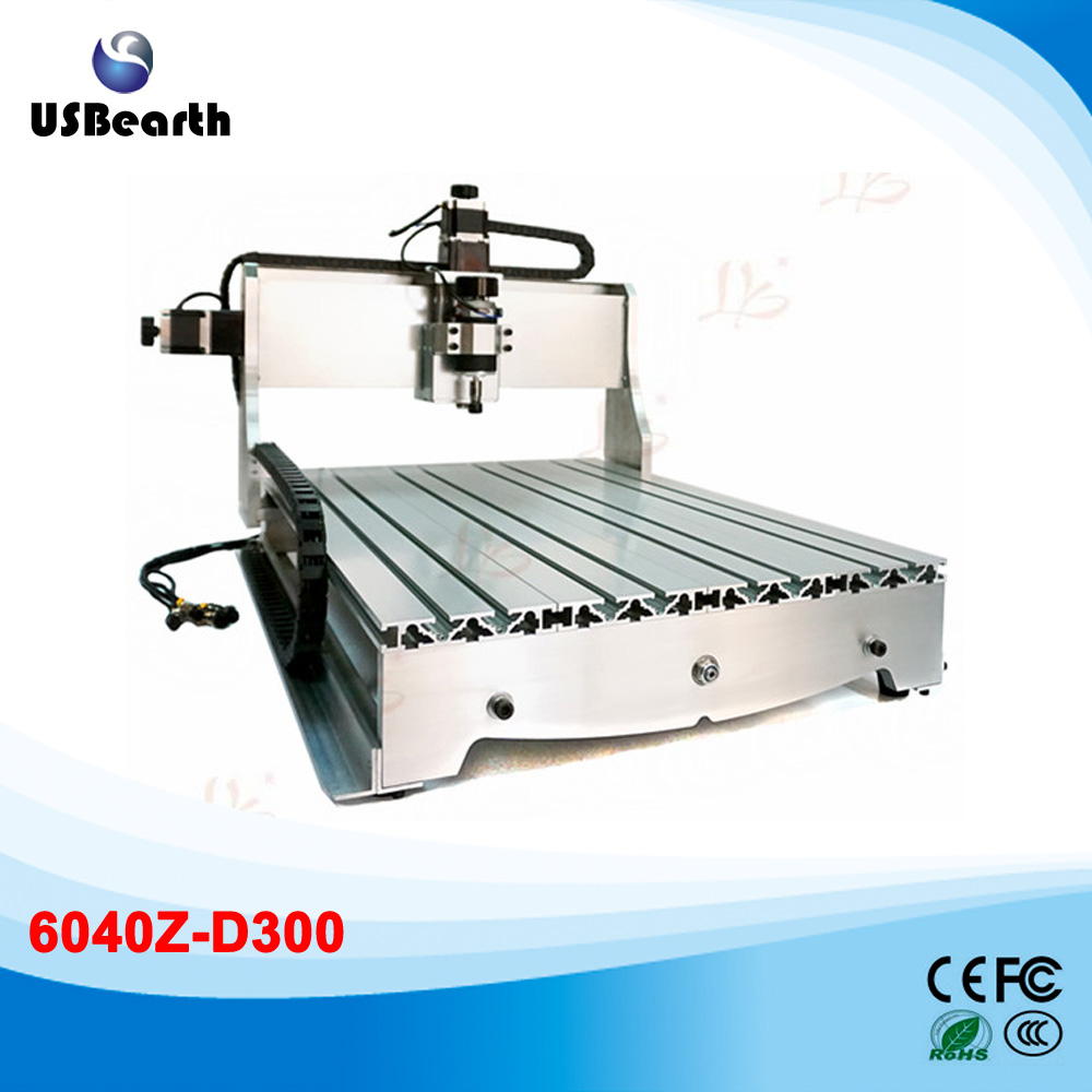 mini CNC Router 6040 Z-D300 engraving milling lathe Machine wood lathe cnc router wood milling machine cnc 3040z vfd800w 3axis usb for wood working with ball screw