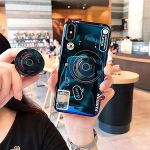 Image 5 - สำหรับ Huawei Y6 Y7 PRIME 2018 Blue Ray กล้องขาตั้งซิลิโคนสำหรับ Huawei Y5 Y6 Y7 2017 y9 2018 Y6 Pro 2019 Coque