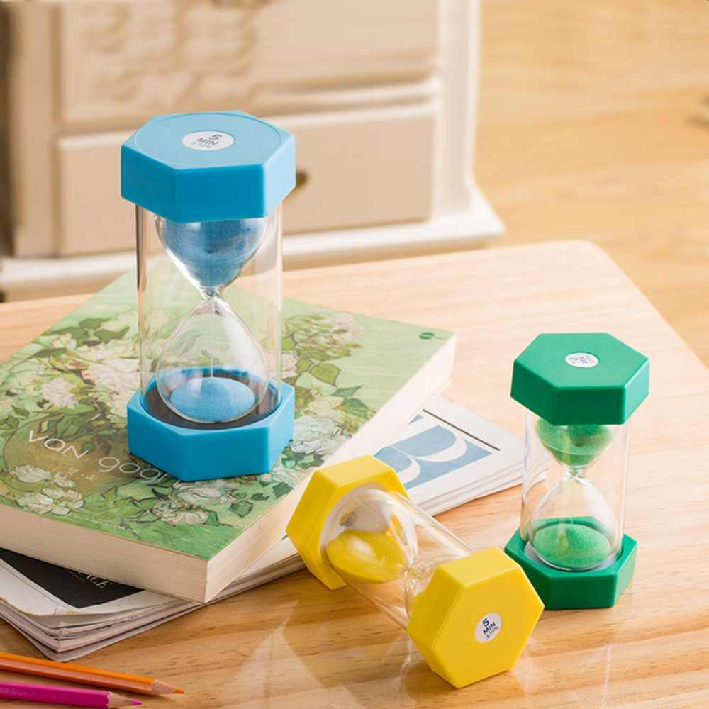 30 Seconds 1/2/3/10 Minutes 15/20/30/45/60 Minutes Sand Hourglass Timer  Sandglass Modern Home Decoration Gift