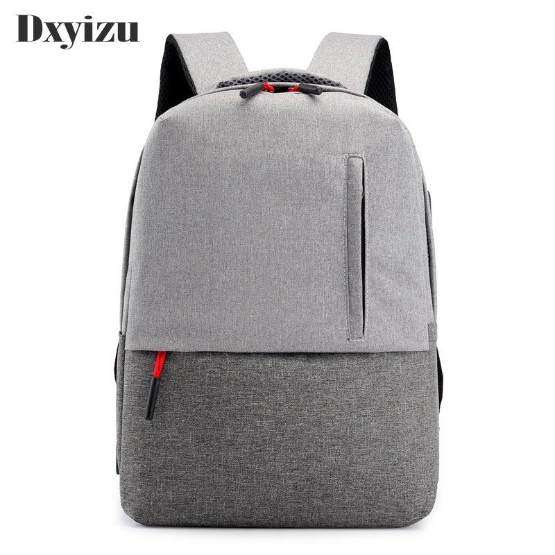 Высококачественный дорожный школьный рюкзак для мужчин и женщин ноутбука USB