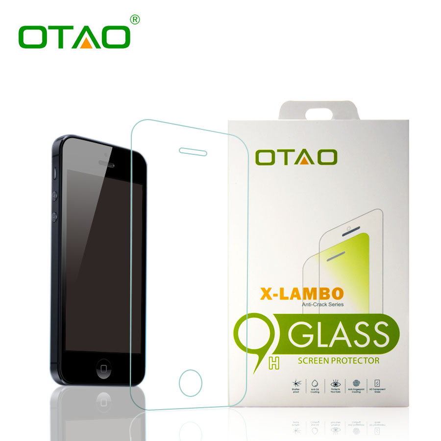 font b Otao b font Retail Package Tempered Glass Screen Protector For iPhone 6 6S