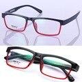 Gafas de moda Los Hombres Unisex Marco Óptico Anteojos Marcos de Los Vidrios TR90 Gafas Marco Mujeres Gafas Suer Luz Gafas Hombres