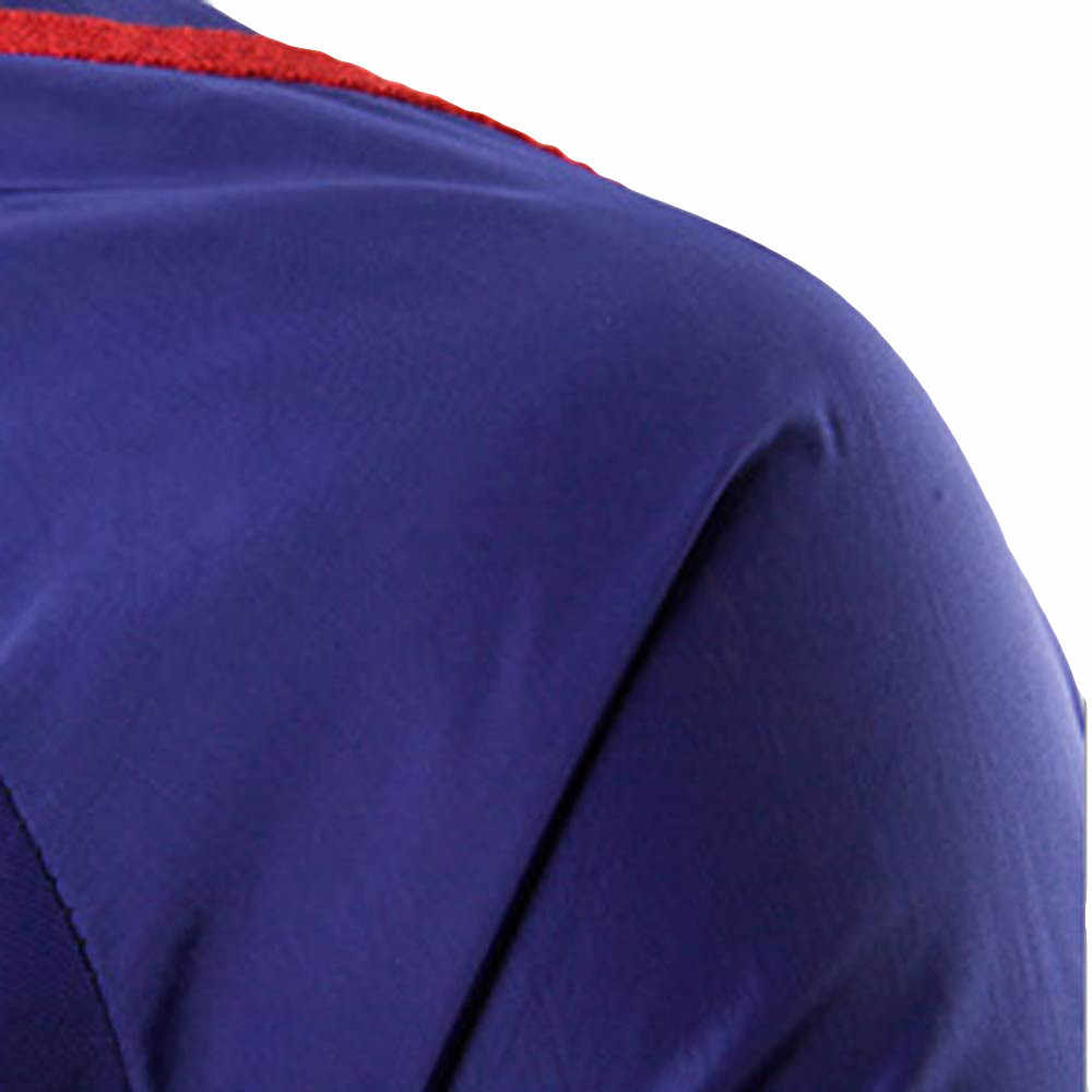 סווטשירט לגברים טהור צבע בתוספת גודל רוכסן סוודר ארוך שרוול סלעית סווטשירט חולצות moletom זכר אופנה גברים 2019
