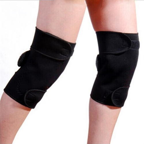 1 Pair Tourmaline Self Heating Knee Pads Magnetic Therapy Knee Support Belt Knee Massager 1