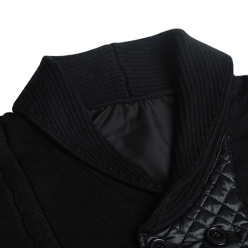 Markless 2018 Winter V-neck Sweater Men Loose Casual Warm Cardigans Knitting Sweaters pull homme sueter hombre MSA2707M