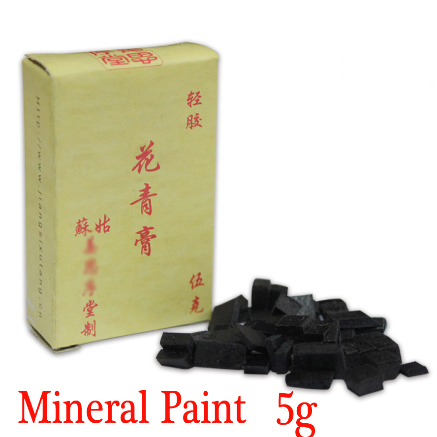 Mineral Paints Chinese Painting Calligraphy Supplies  Acrylic Paints Traditional Chinese painting pigments