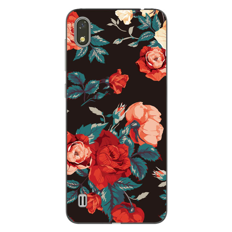Goterflly For ZTE Blade A530 ZTE A606 cute cover Soft Silicone Case For ZTE A530 Case Coque Painted Cases Back Fundas Housings in Fitted Cases from Cellphones Telecommunications