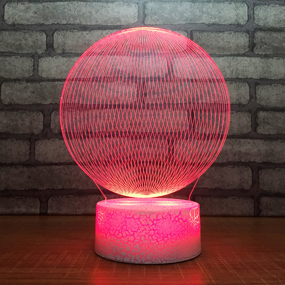 3d Bedroom Decor Visual Lighthouse Modelling Night Light 7 Colors Changing Bedside Building Table Lamp Baby Sleep Lighting Gifts A Great Variety Of Models Lights & Lighting