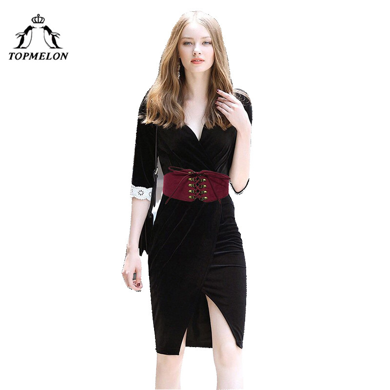 TOPMELON Belly Slimming Belt Modeling Strap Steampunk Accessories Tummy Control Gothic Leather Rivet Lace Up Corset Belts