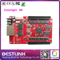 Асинхронный контроллер карты Colorlight A8 из светодиодов полноцветный гамма плата управления 256 * 256 пикселей для p10 p16 открытый из светодиодов экран