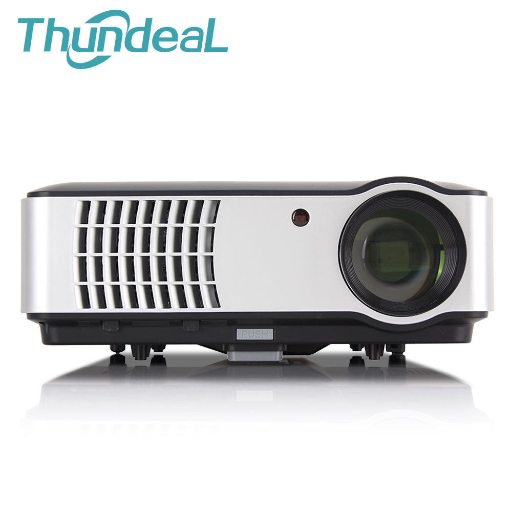 NEW Arrive 2800lumen 1280*800 Projector FULL HD LED 3D Home Theater Projectors ready projektor beamer proyector 2HDMI 2USB TV AV