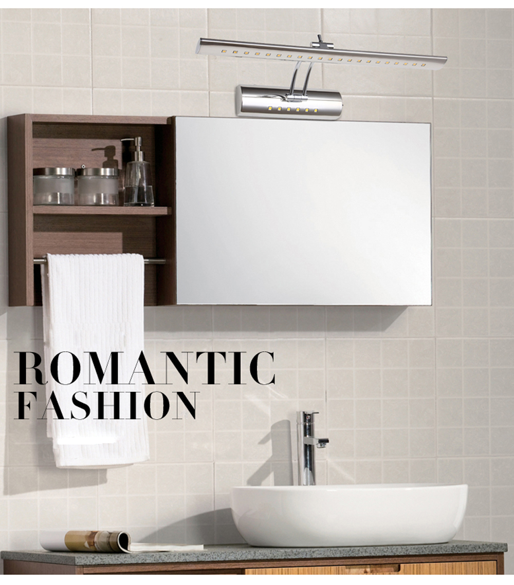 LED Mirror Light Wall Lamps Modern Brief Bathroom Mirror Led Light ...