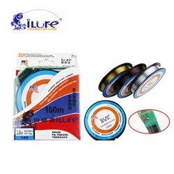 ILure marka Super Strong 150Mt marki najwyższej jakości 100% japoński linia Fluorocarbon przewód żyłka wędkarska karpia linia drutu Pesca