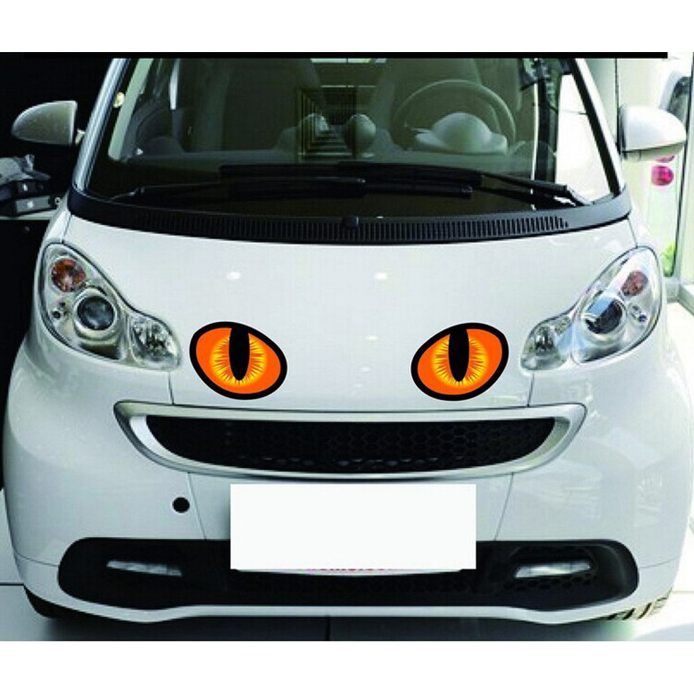 Car Sticker Hot Sale 3DSimulation of the Cats eyes personalized Stickers TJ