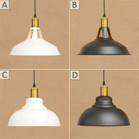 Vintage Metal Pendant LED Lights Hanglamp Light Fixtures Retro Industrial Pendant Lamp Loft Lamparas Colgantes 220v